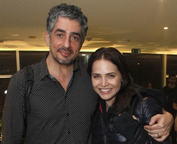Letícia Colin e Michel Melamed (Foto: Anderson Borde/AgNews)