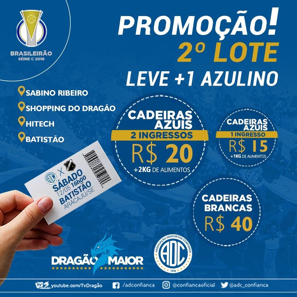c28380501c66c ... Confiança lança nova promoção para segundo lote — Foto  Divulgação ADC
