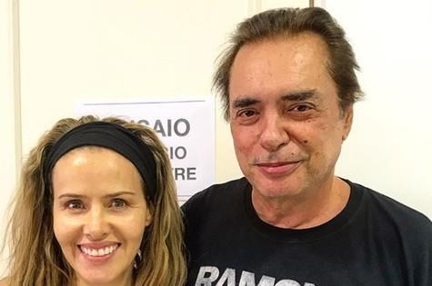 Leona Cavalli e José Rubens Chachá (Foto: Reprodução)