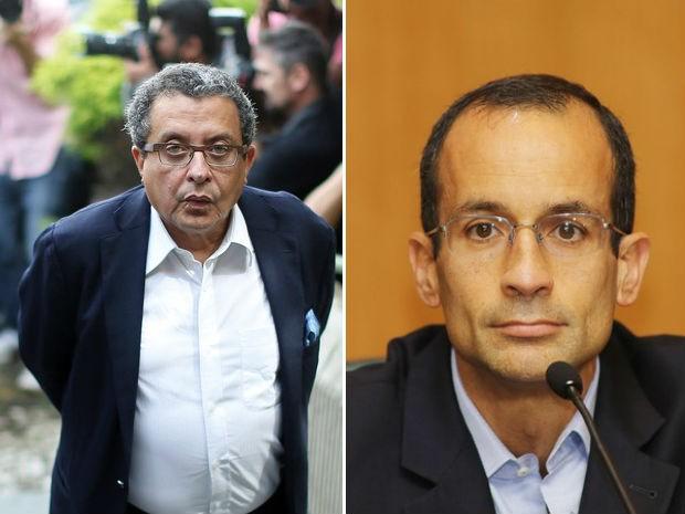 João Santana e Marcelo Odebrecht foram denunciados (Foto: STR/AFP e Giuliano Gomes/PR Press)