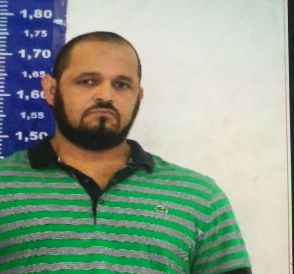 Ex-policial militar Antônio Eugênio de Souza Freitas, o Batoré, foi morto pela polícia na manhã desta quinta (27) — Foto: Reprodução