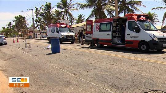 Duas pessoas morrem em acidente de trânsito em Aracaju