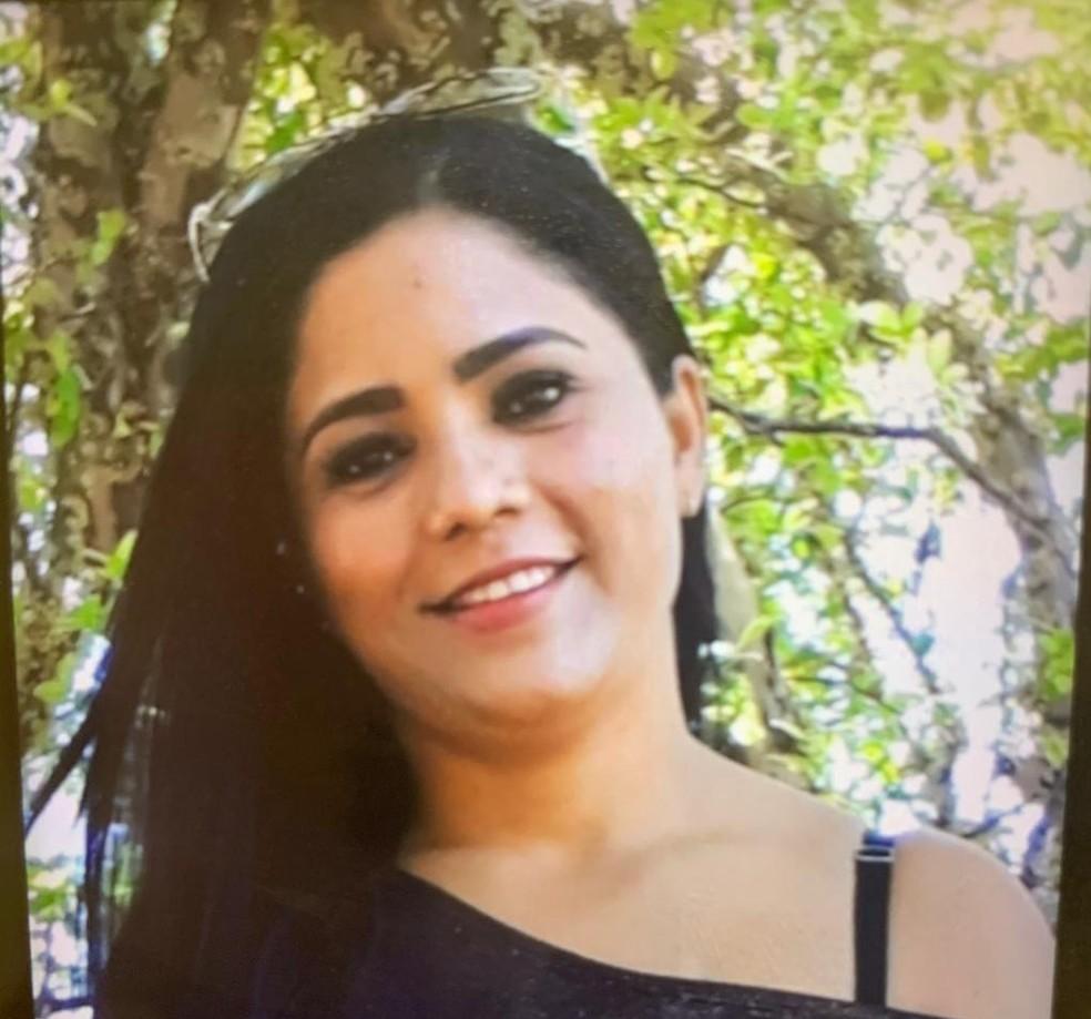 Sandra Maria foi assassinada no sábado (23) e o corpo encontrado em uma cova no Parque Nacional, nesta segunda (25) — Foto: Polícia Civil/ Divulgação