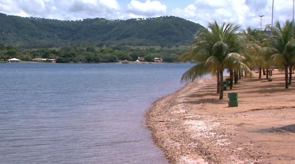 Turistas Franca poderão desfrutar da Praia Artificial em Rifaina-SP  — Foto: José Augusto Júnior/EPTV