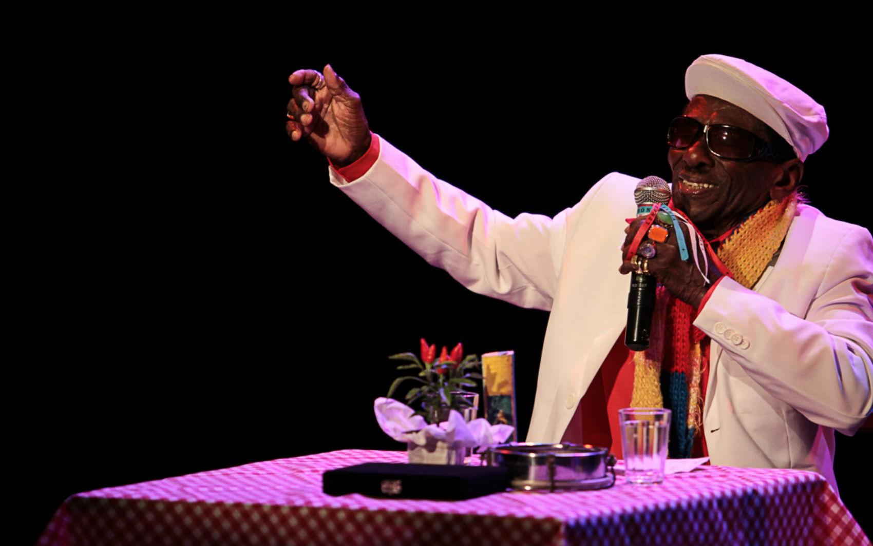 Riachão faz shows na Caixa Cultural em comemoração a aniversário e ao Dia do Samba