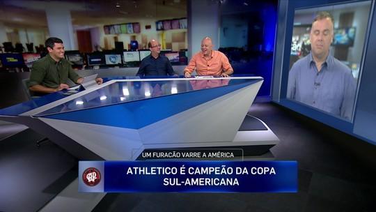 """Comentaristas analisam feito histórico do Atlético-PR e peso de fator casa: """"Sofreu pane"""""""