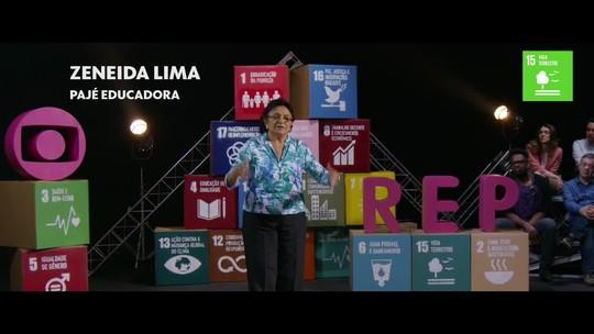 Zeneida Lima fala sobre a preservação da natureza