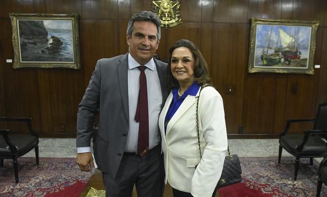 Ciro Nogueira e Eliane Nogueira