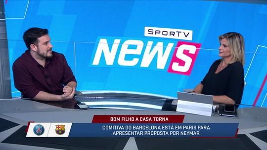 """Raphael de Angeli comenta a saída do Neymar do PSG """"Mais uma vez vai sair de um clube pela porta dos fundos"""""""