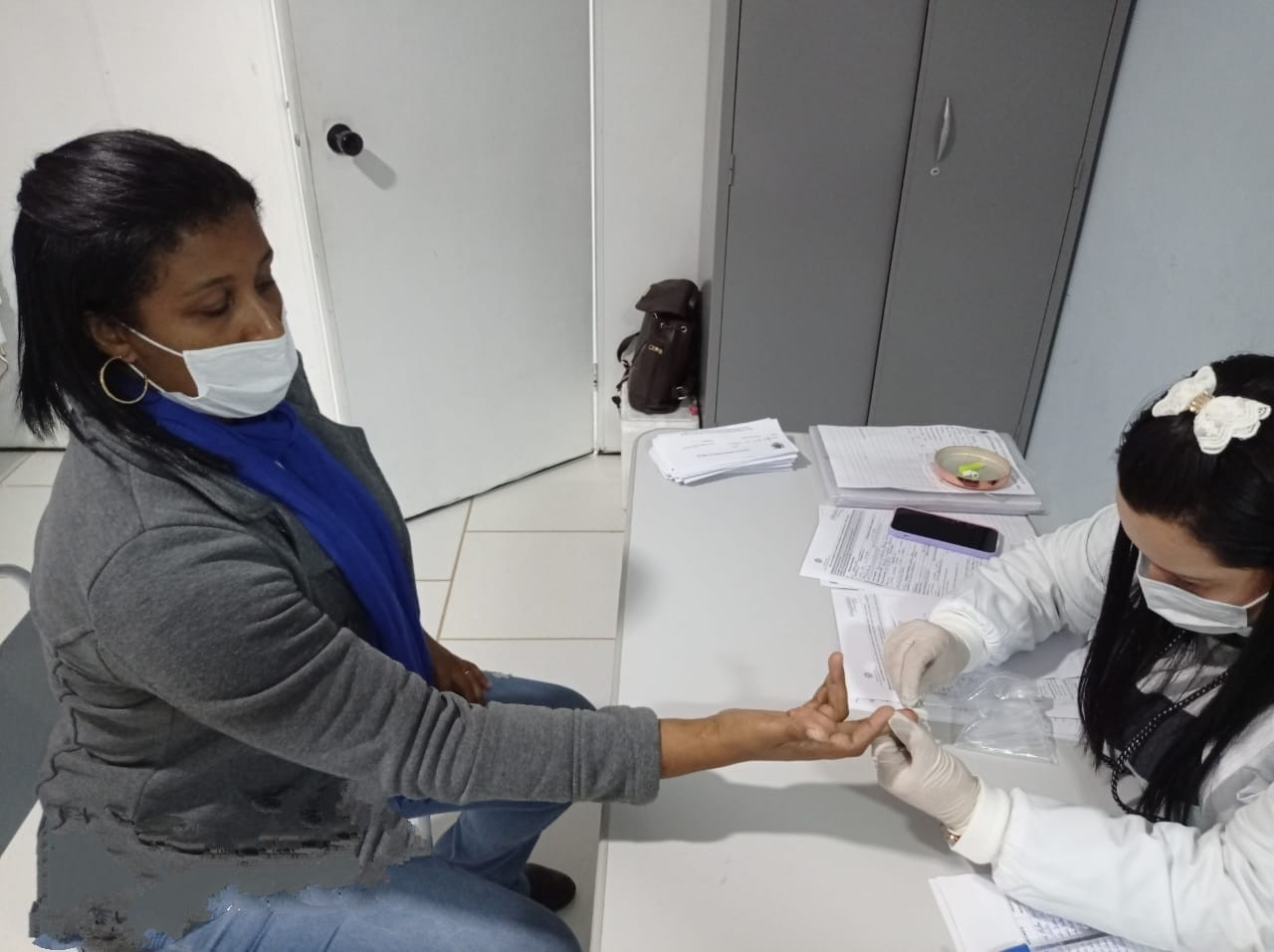 Varre-Sai, RJ, faz testagem para Covid-19 em professores da rede municipal de ensino