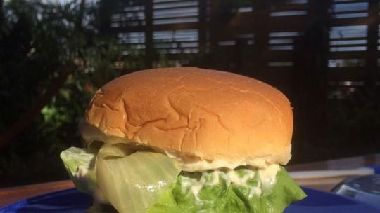 Hambúrguer na Brasa