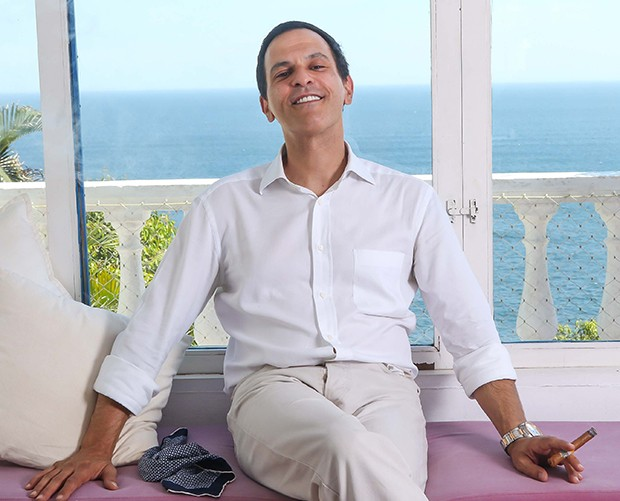 João Marcelo Bôscoli (Foto: Daniel Janssens/ Ed.Globo)