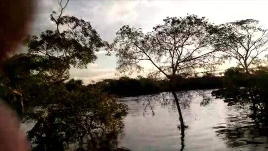 Corpo de adolescente que desapareceu após lancha virar em rio de RO é encontrado