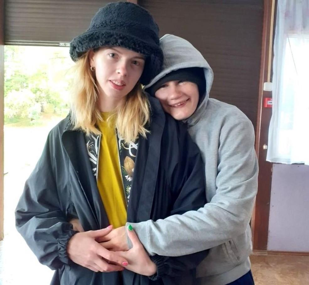 Arina espera se tornar tutora legal de Nina o mais breve possível — Foto: BBC