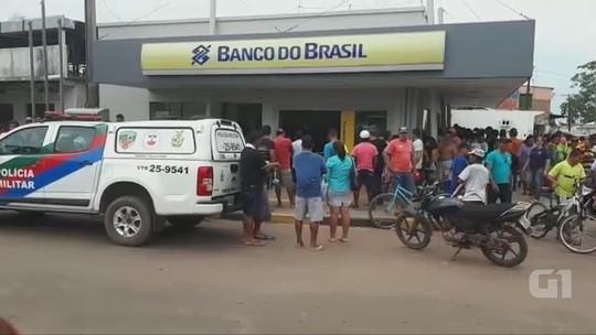 Homem é morto em troca de tiros em assalto a empresário dentro de agência bancária no AM