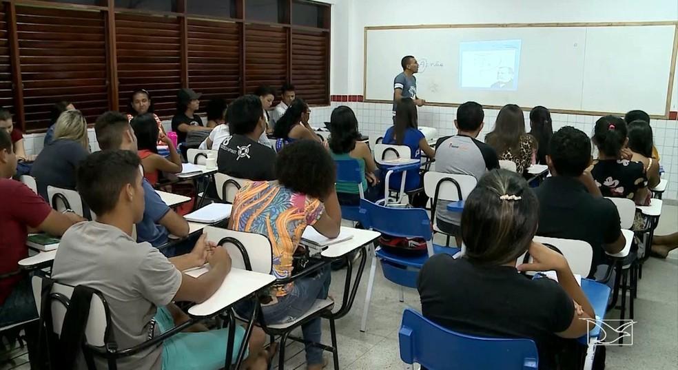 Cresce o número de jovens maranhenses que não estudam nem trabalham — Foto: Reprodução/TV Mirante