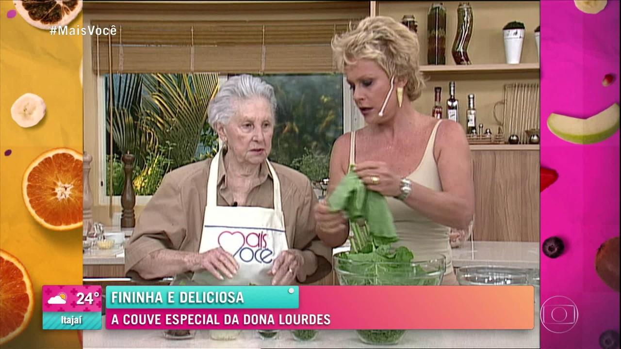 A couve especial da Dona Lourdes: fininha e deliciosa