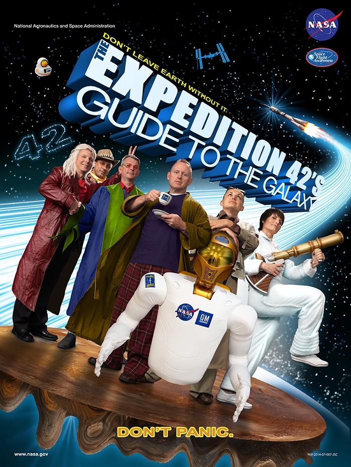 Expedição 42  (Foto: NASA)