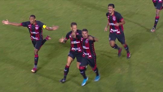 Operário 1 x 2 Vitória: assista aos melhores momentos e gols da partida