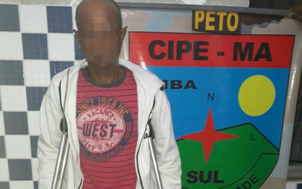 Homem utilizava filho de 11 anos para vender drogas (Foto: Divulgação/Polícia Militar)