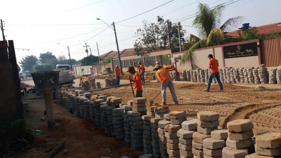 Índice de reincidência dos presos que passam pela unidade caiu para 10%, segundo a direção do presídio. — Foto: Sejus/Divulgação