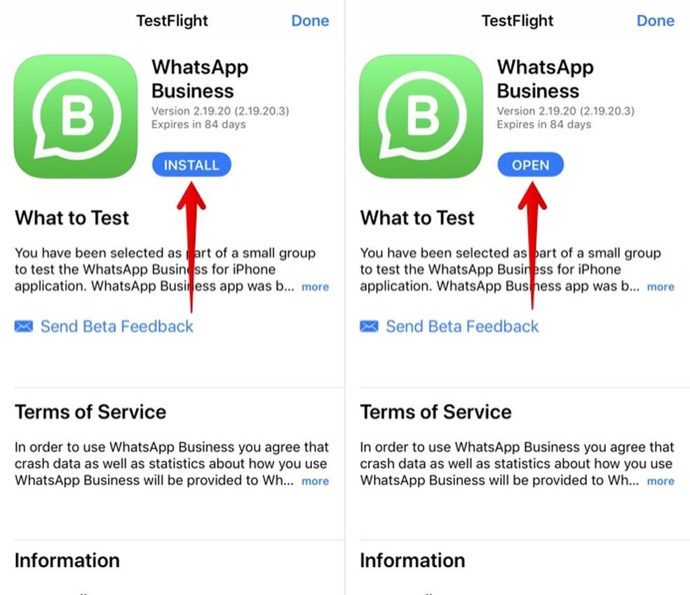 Whatsapp Business Chega Ao Iphone Saiba Como Baixar A Versao Beta Redes Sociais Techtudo