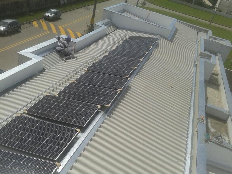 Consumo de energia solar cresce na região de Sorocaba (Foto: Regiane Brisola Ferreira/Arquivo Pessoal)