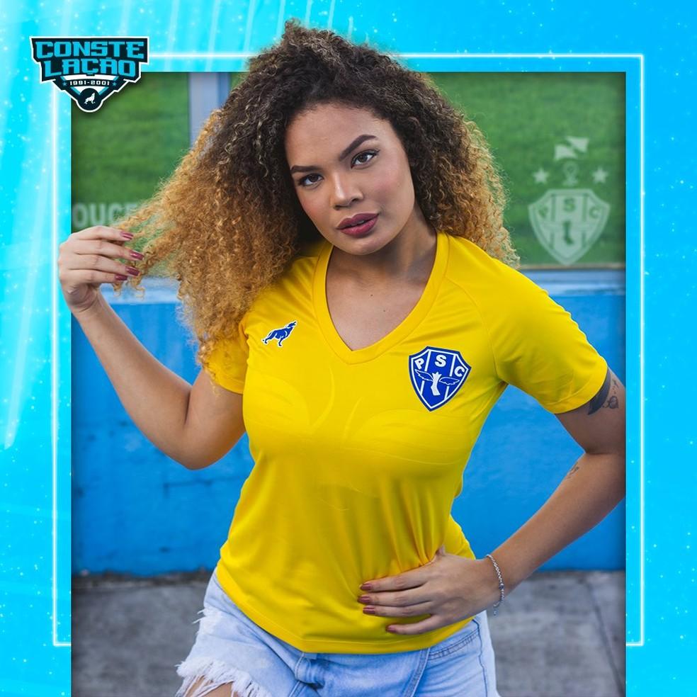 Camisa de treino goleiro - versão feminina — Foto: Divulgação