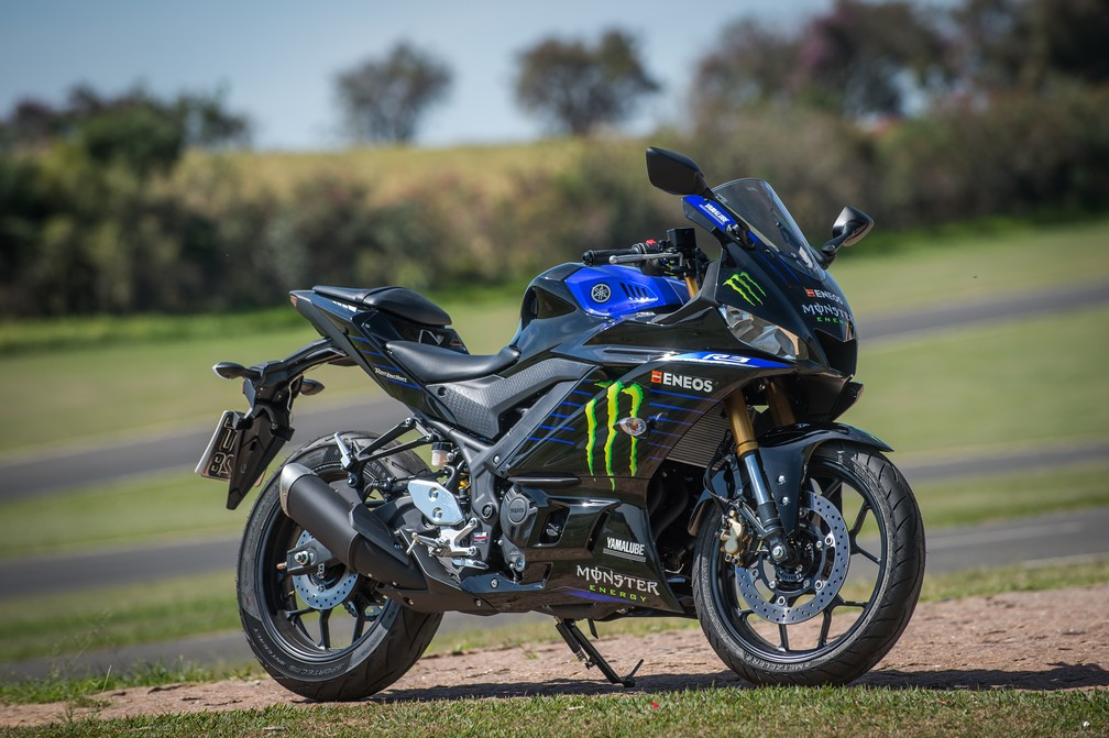 Yamaha YZF-R3 Monster MotoGP Edition is the most expensive in the line - Foto: Divulgação