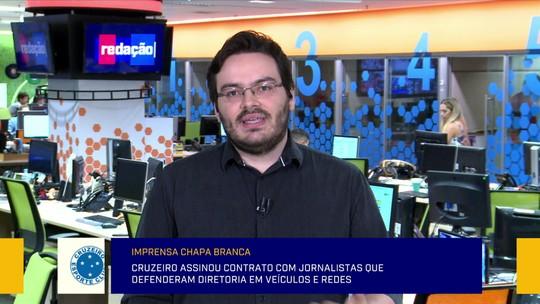 Cruzeiro assinou contrato com jornalistas que defenderam diretoria