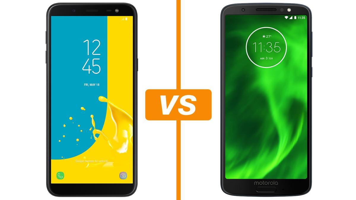 86500c165d Galaxy J6 vs Moto G6: conheça os smartphones intermediários | Celular |  TechTudo