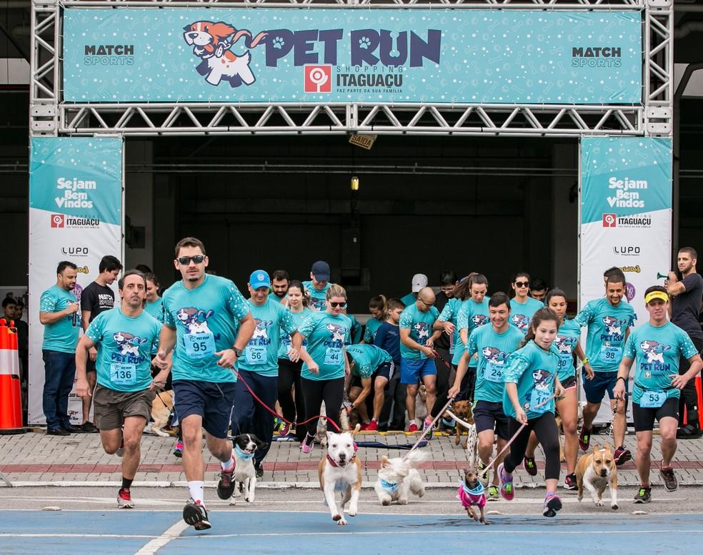 Pet Run ocorre no domingo (10) em Jurerê  (Foto: José Somensi/Divulgação)