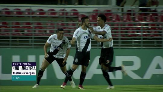 Os gols de CSA 1 x 2 Ponte Preta pela 31ª rodada da Série B