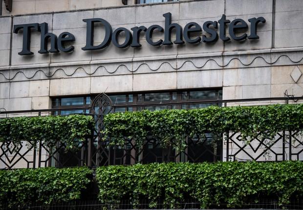 The Dorchester, um dos hotéis da família que comanda o sultanato de Brunei (Foto: Chris J Ratcliffe/Getty Images)
