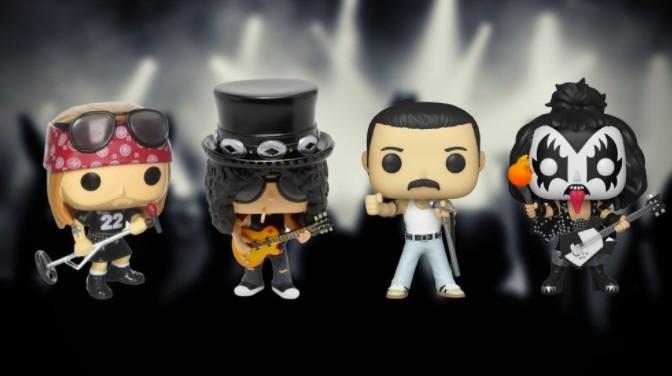 Celebre o Dia do Rock aumentando a sua coleção de Funko Pop (Foto: Divulgação/Amazon/Arte por Lucas Santos)