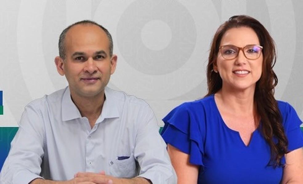 Evandro Soares e Rosaline Rocha Lunardi foram escolhidos para comandar a reitoria da UFMT — Foto: Facebook/Reprodução