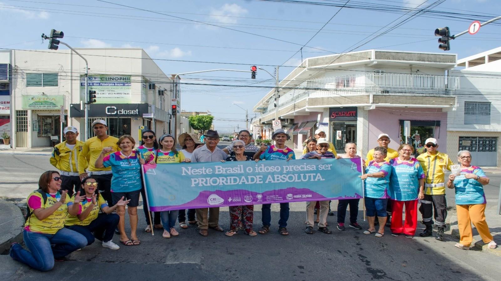 Ações marcam o Mês do Idoso em Serra Talhada - Notícias - Plantão Diário