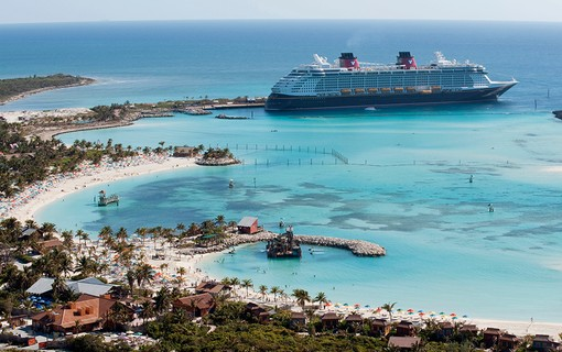 A Castaway Cay é a ilha privada da Disney e uma das paradas do navio Disney Dream
