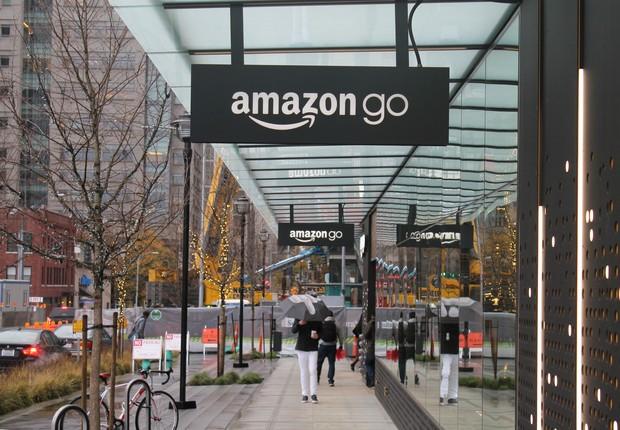 Amazon Go, supermercado da Amazon localizado em Seattle que não possui caixas (Foto: Reprodução/Facebook)