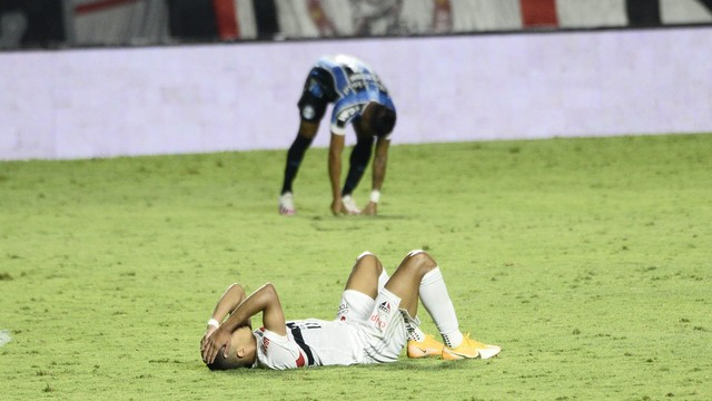 São Paulo eliminado da Copa do Brasil pelo Grêmio