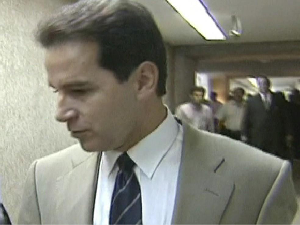 Luiz Estevão, ex-senador — Foto: Reprodução Globo News