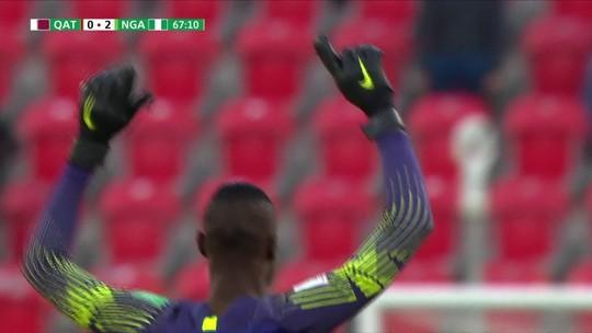 Nigéria deita e rola e atropela o Catar na primeira rodada do Mundial Sub-20