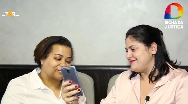 Fundadoras da Bicha da Justiça, startup que participa do Startup Show (Foto: Divulgação)