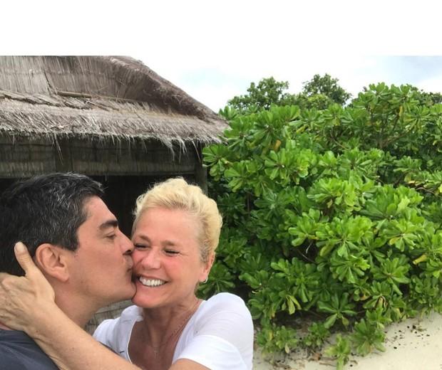 Junno Andrade e Xuxa (Foto: Reprodução)