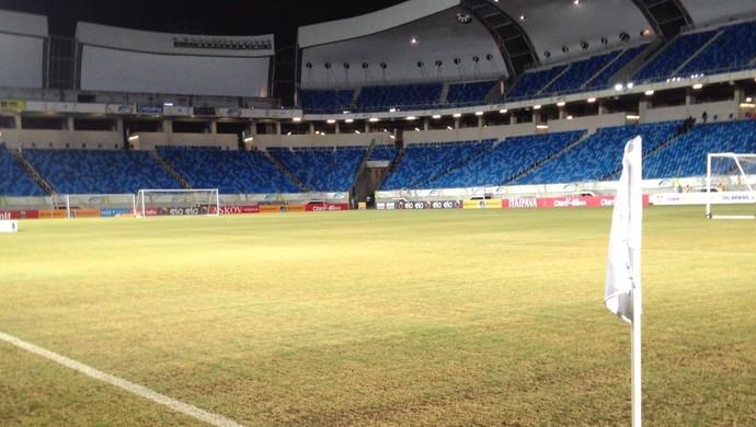 Arena das Dunas - TR América-RN x Gama - Copa do Brasil 2016 (Foto: Reprodução/Twitter)