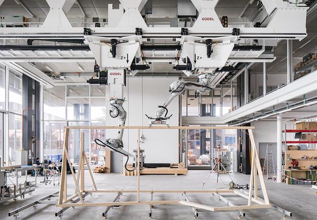 Conheça a casa inteligente construída com robôs e impressão 3D