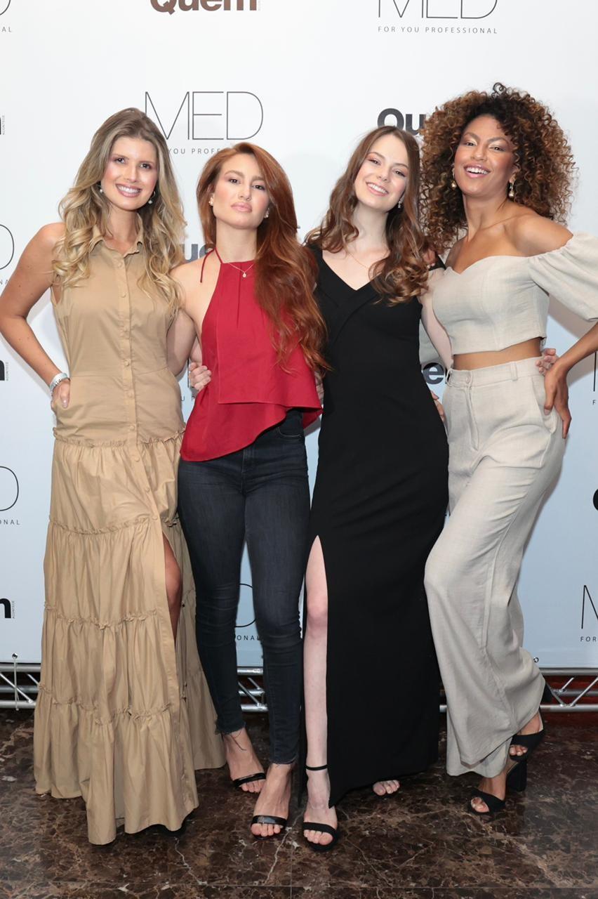 Nathália Doeon, Giovanna Gottlieb Cersosimo, Any Hasper e Liandra Guimarães (Foto: Rafael Cusato/Ed. Globo)