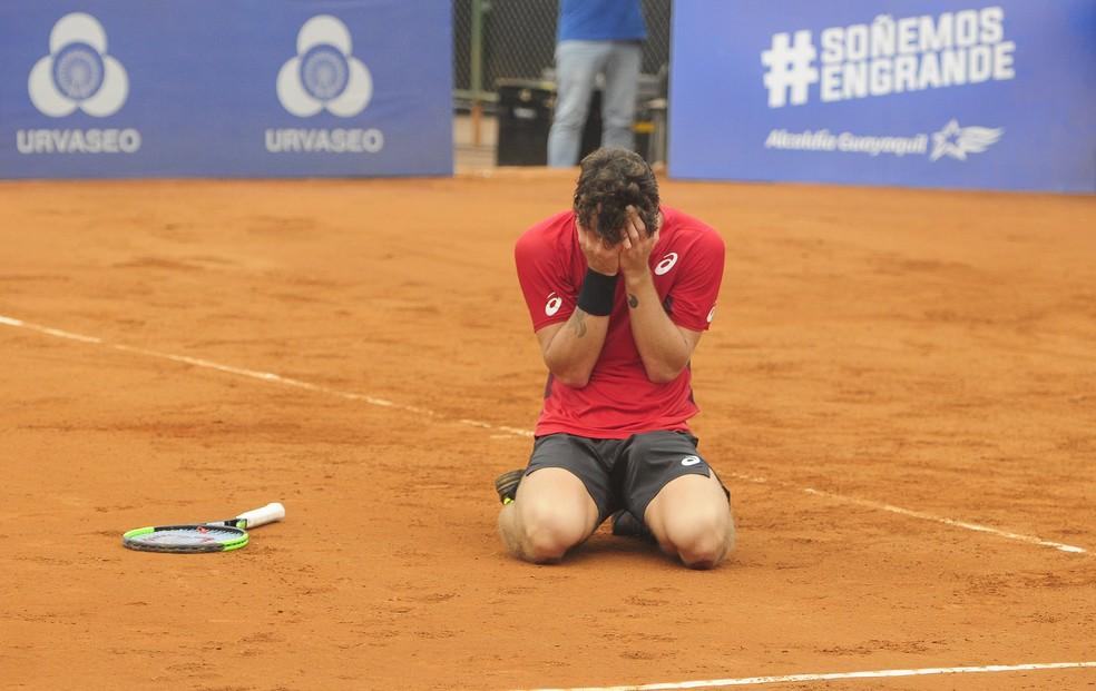 Thiago Wild conquista título em Guayaquil — Foto: Divulgação