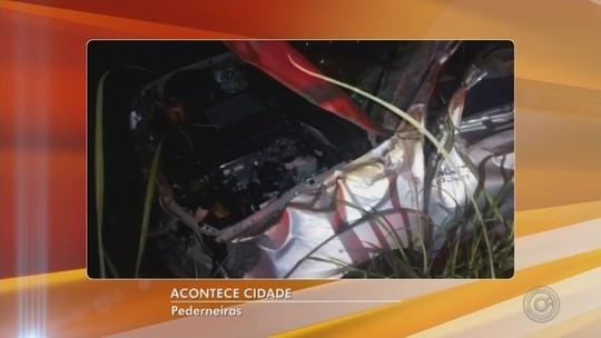 Três homens morrem após capotamento de caminhonete em vicinal