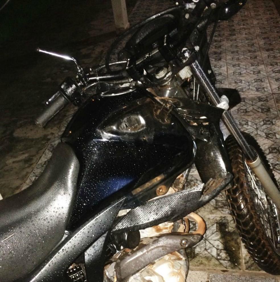 Motociclista apresentou sintomas de embriaguez (Foto: Pimenta Virtual/Reprodução)